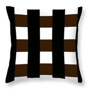 Moveonart 12 Foursquare Throw Pillow