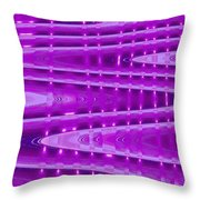 Moveonart Abstract Waves And Light II Throw Pillow