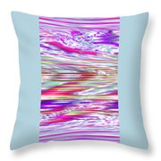 Moveonart All Dreaming Now Throw Pillow