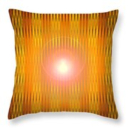 Moveonart American Indian Annointing Throw Pillow