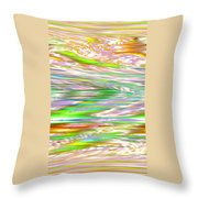 Moveonart Ancient Future Dreaming Throw Pillow