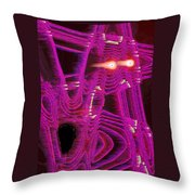 Moveonart Art Shocked By The Future One Throw Pillow