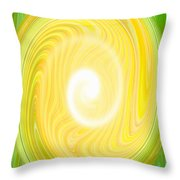 Moveonart Bright Newness 1 Throw Pillow