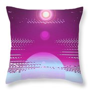 Moveonart Calming Cosmic Centering One Throw Pillow