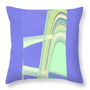 Moveonart Clean Me Up Wave Throw Pillow