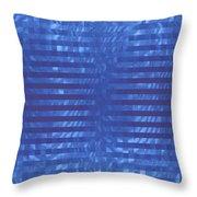 Moveonart Codeblue Throw Pillow