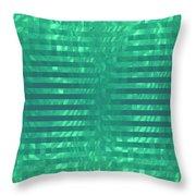 Moveonart Codegreen Throw Pillow