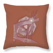 Moveonart Creative Peaceful Creature Five Throw Pillow