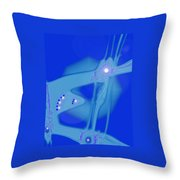 Moveonart Creative Peaceful Creature Three Throw Pillow