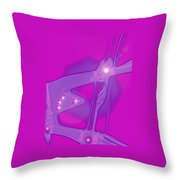 Moveonart Creative Peaceful Creature Two Throw Pillow