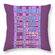 Moveonart Crossing Paths Again Throw Pillow