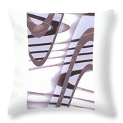 Moveonart Daily Planet Wave 1 Throw Pillow