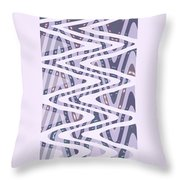 Moveonart Dreamers Waves Throw Pillow