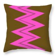 Moveonart Electricpink Throw Pillow
