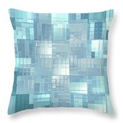 Moveonart Energy Efficient Urban Development Throw Pillow