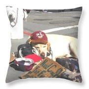 Moveonart Everyday In Sf 1 Throw Pillow