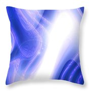 Moveonart Extraterrestrial Movement 1 Throw Pillow