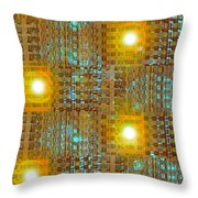 Moveonart Eye And Light Engagement Two Throw Pillow