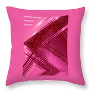 Moveonart Freedom Of Thought One Throw Pillow
