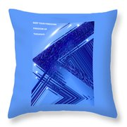 Moveonart Freedom Of Thought Two Throw Pillow