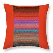 Moveonart Future Indian Voice Wave Quilt Throw Pillow