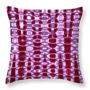 Moveonart Future Texture 2 Throw Pillow