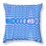 Moveonart Future Texture 3 Throw Pillow