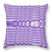 Moveonart Future Texture 5 Throw Pillow