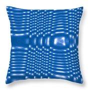 Moveonart Future Texture 7 Throw Pillow