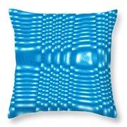 Moveonart Future Texture 8 Throw Pillow