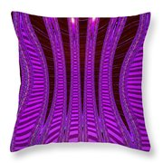 Moveonart Future Texture Now Two Throw Pillow