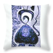 Moveonart Gothic Gertrude 1  Throw Pillow