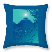 Moveonart Green Memories One Throw Pillow
