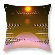 Moveonart In Light Of Believing Throw Pillow