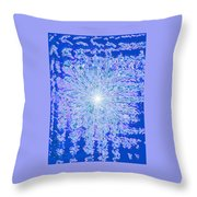 Moveonart Intense Cool Centering Throw Pillow