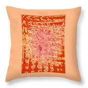 Moveonart Intense Indian Fire Chant Throw Pillow
