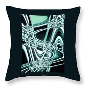 Moveonart Intentionally Abstract Movement Throw Pillow