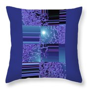 Moveonart Inter Dimensional Shift One Throw Pillow