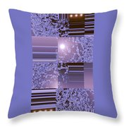 Moveonart Inter Dimensional Shift Two Throw Pillow
