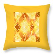 Moveonart Jagged Colored Enlightenment Three Throw Pillow