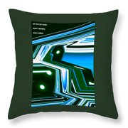 Moveonart Let Go Let God One Throw Pillow