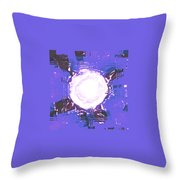 Moveonart Light Saturation With Blue Throw Pillow