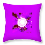 Moveonart Light Saturation With Pink Throw Pillow