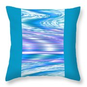 Moveonart Longing For Waves Of Renewal Throw Pillow