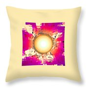 Moveonart May This Gift Of Light Help You Along Lifes Way Throw Pillow