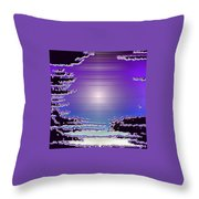 Moveonart Mood 11 Throw Pillow