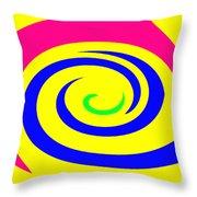 Moveonart Movecolormove Throw Pillow