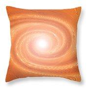 Moveonart Movement In Orange 3 Throw Pillow