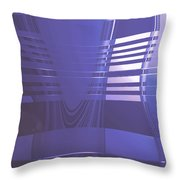 Moveonart New American Indian Architecture 1 Throw Pillow