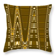 Moveonart New American Indian Architecture 2 1 Throw Pillow